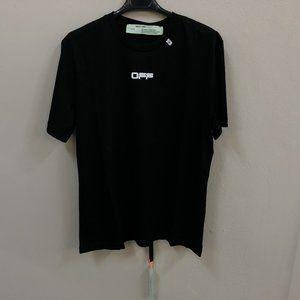 "Off-White Men Black Short Sleeve T-Shirt ""XL"""